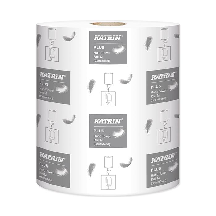 Serviettes Rouleau Katrin, Plus M2 2 épaisseurs, 22 x 38 cm