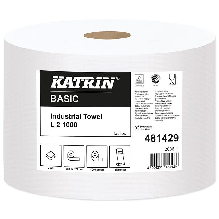 Katrin Basic Handtuchrollen L