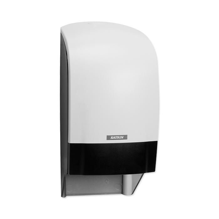 Katrin System Dispenser per carta igienica bianco, 31,3 x 15,4 x 17,4 cm