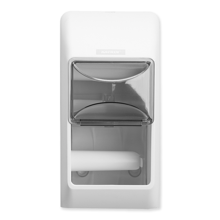 Katrin Inclusive Dispenser per carta igienica per 2 rotoli bianco