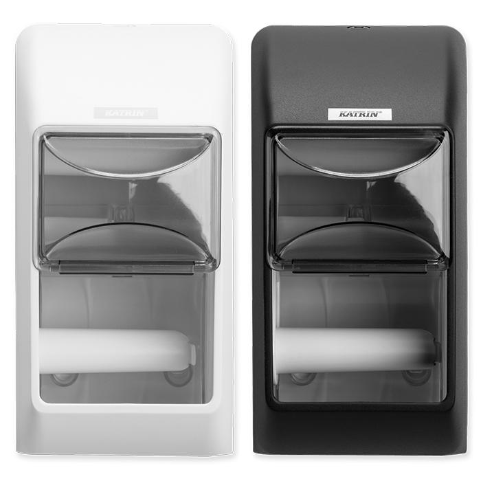 Katrin Inclusive Dispenser per carta igienica per 2 rotoli