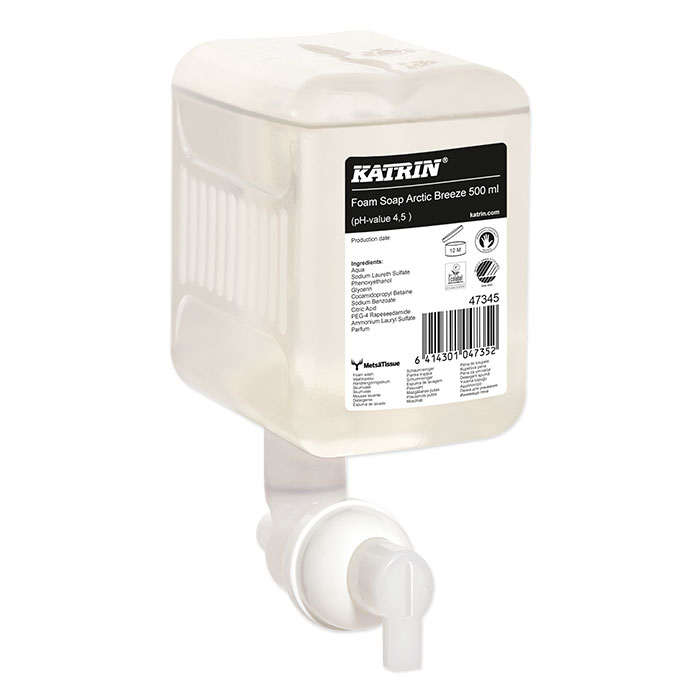 Katrin schiuma per lavare le mani profumata Arctic Breeze, 500 ml