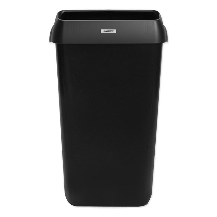Katrin Contenitore per rifiuti 25 litre, nero