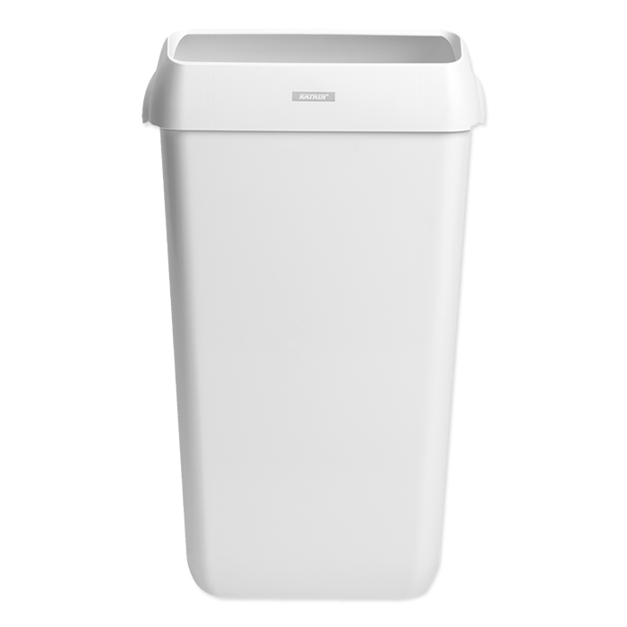 Katrin waste container 25 l, white