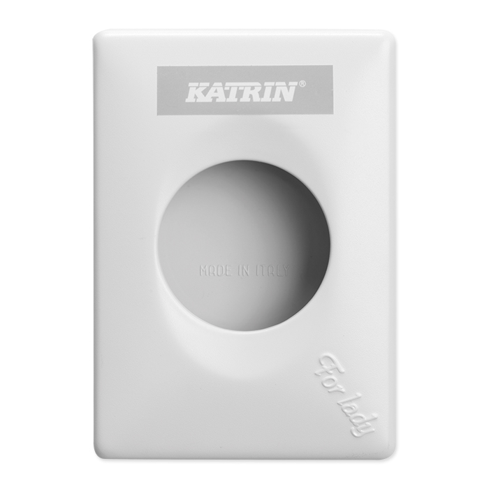 Katrin hygiene waste disposal bag dispenser white