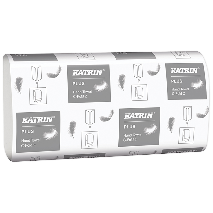 Katrin hand towels, Plus C-Fold 2