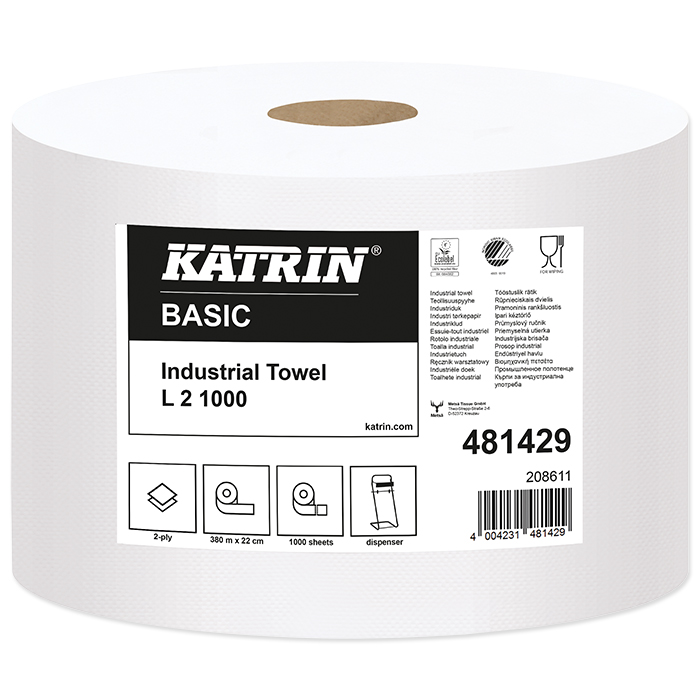 Katrin hand towels roll Basic L