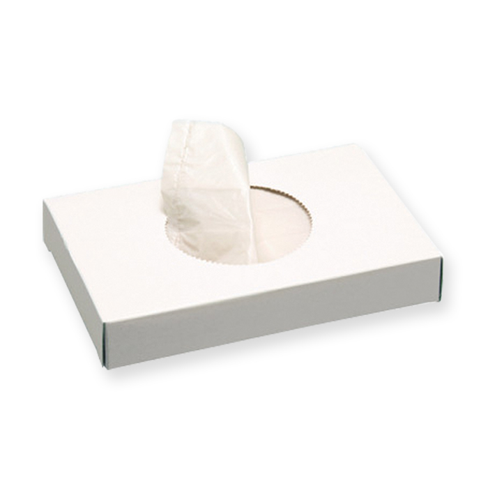 Female hygiene waste disposal bags  Le Prestige white, 8,8 x 12,8 cm