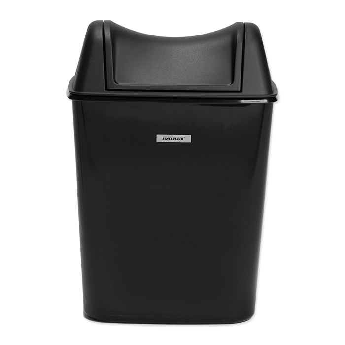Katrin female hygiene waste disposal container black