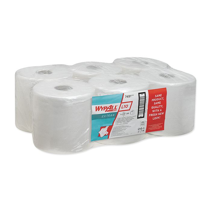 Wypall hand towels roll L10 white