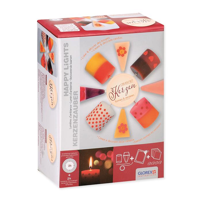 Kit créatif bougies Glorex