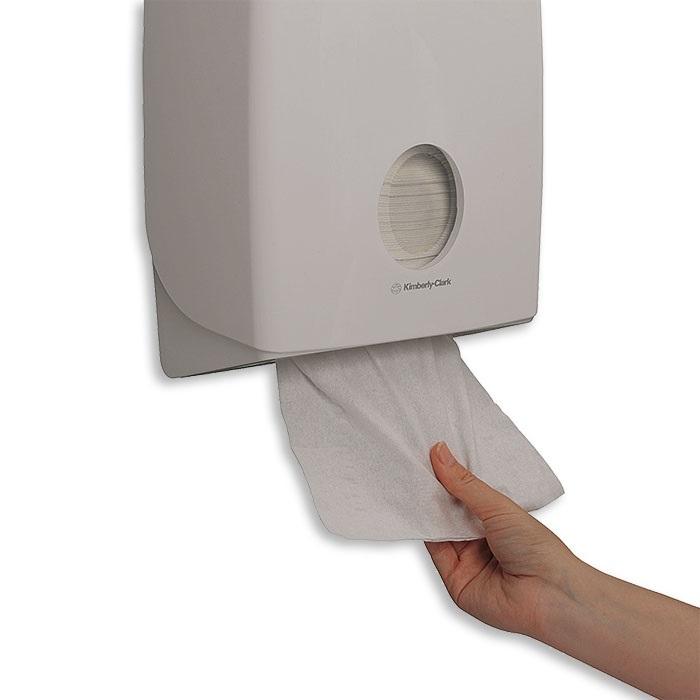 Aquarius Distributeur d'essuie-mains  blanc