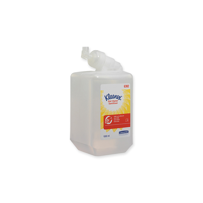 Kleenex hand disinfection gel