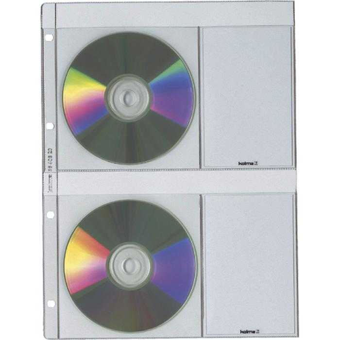 Kolma CD/DVD Zeigetaschen