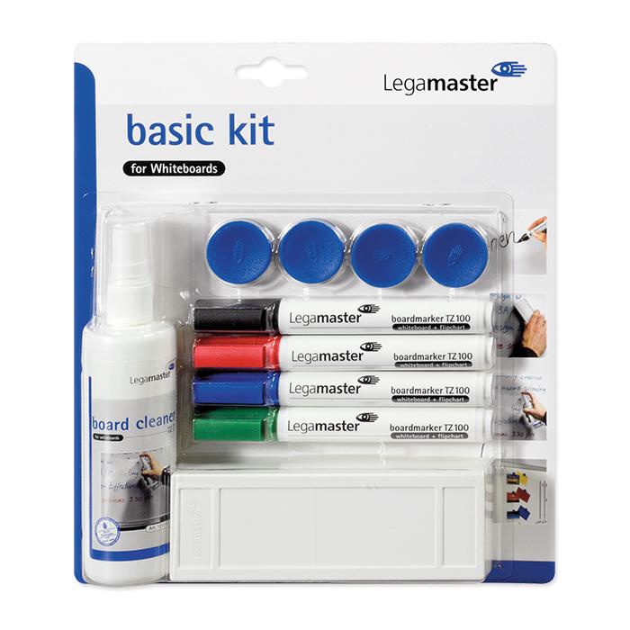 Legamaster Whiteboard Accessory set Basic kit Plastic, blister pack