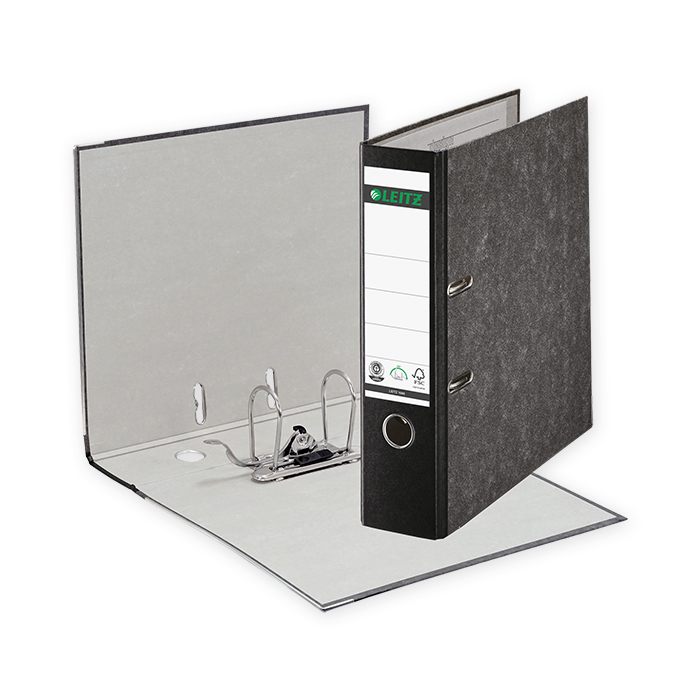 Leitz 180° Lever Arch File Classic Marbled