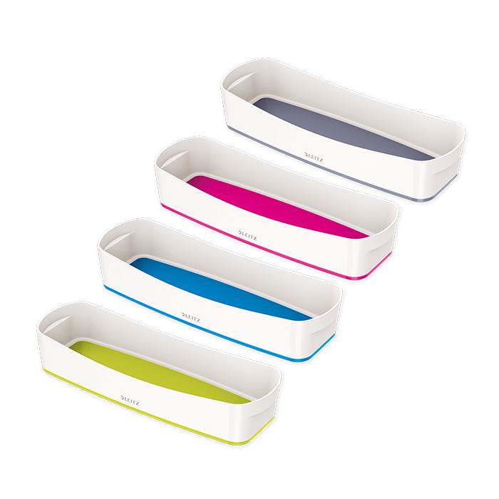 leitz bo te mybox petit format avec couvercle blanc gris online bestellen schoch v gtli. Black Bedroom Furniture Sets. Home Design Ideas