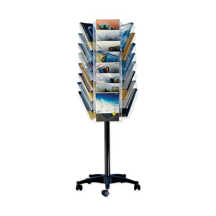 Leitz Brochure display stand Presenter empty