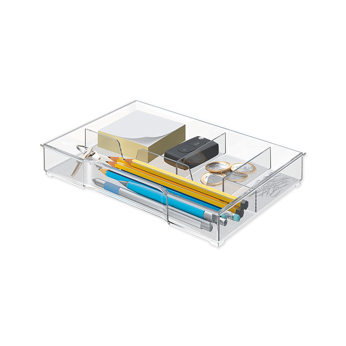 Leitz drawer insert transparent