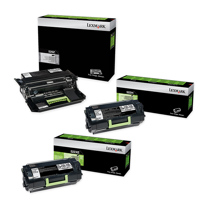 Lexmark Toner cartridge 520 / 522