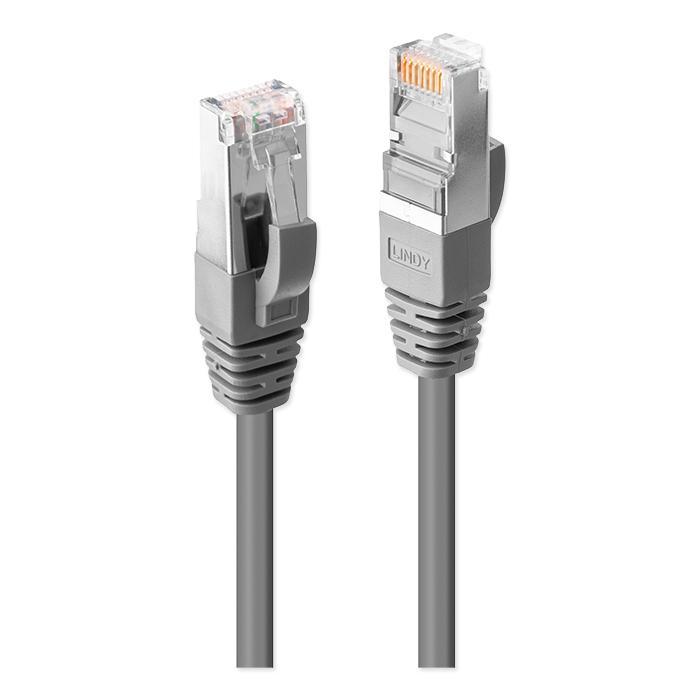 Lindy Premium Patch Cable Cat.6 | light grey