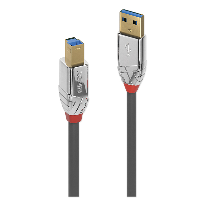 Lindy USB 3.0 Type A to B cable Cromo Line