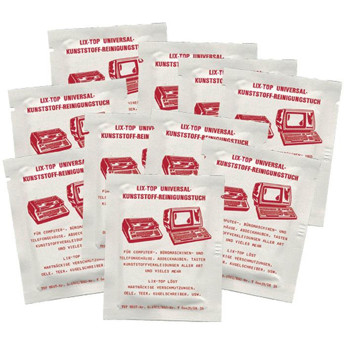 Lix-Top Universal Kunststoff-Reinigungstücher