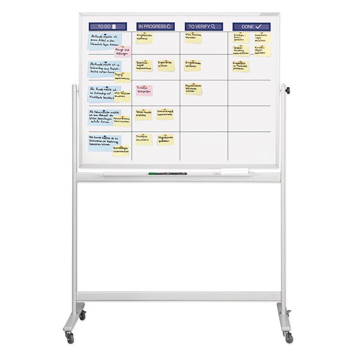 Magnetoplan Scrum board mobil standard