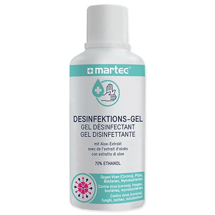Martec Hände-Desinfektions-Gel