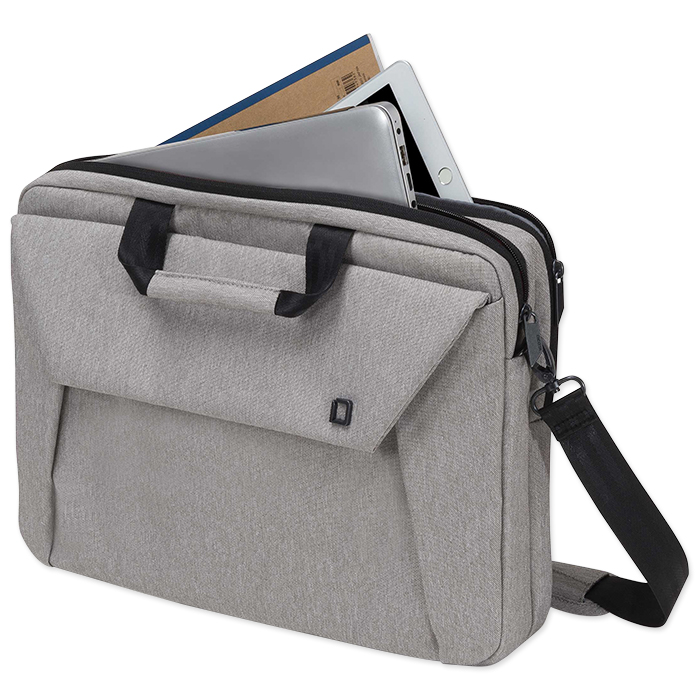 "Dicota Slim Case Plus EDGE for 12 - 13,3"" Notebooks, grey"