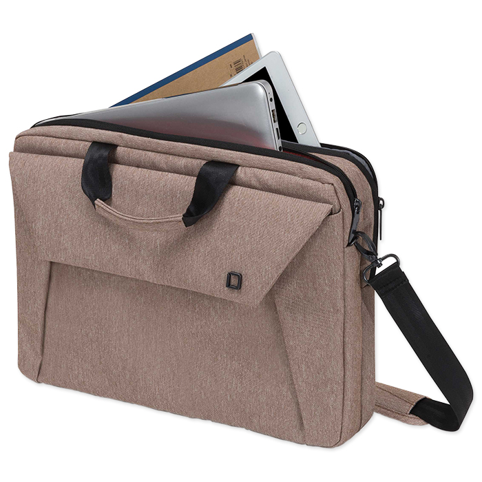 "Dicota Slim Case Plus EDGE for 12 - 13,3"" Notebooks, sandstone"