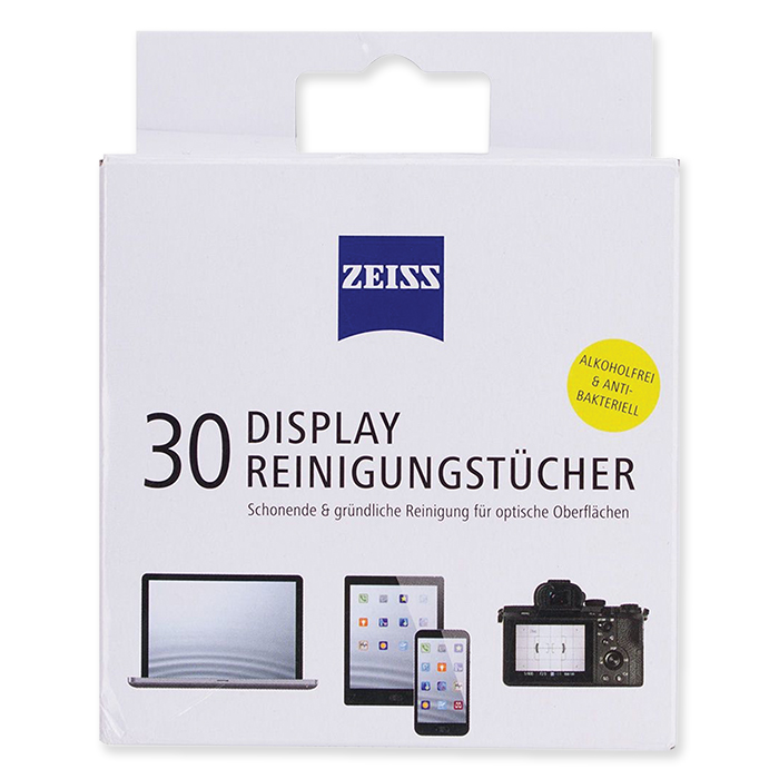 ZEISS Display Cleaning Wipe Universal, 30 pieces