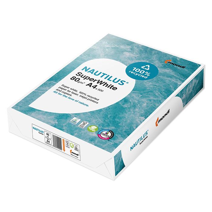 Mondi Kopierpapier Nautilus Super White