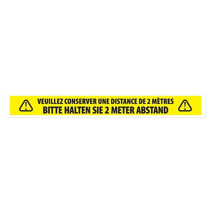 Muparo Warnband - Abstand halten