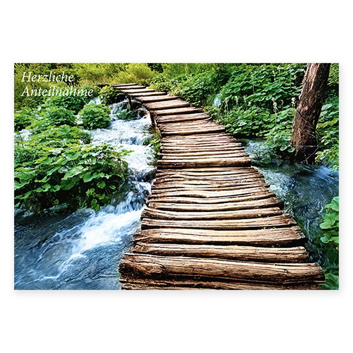 Natur Verlag Condolence cards - Bridges