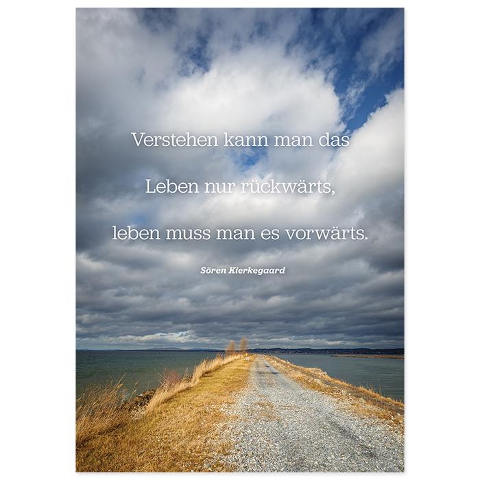 Natur Verlag Condolence cards - riverside path