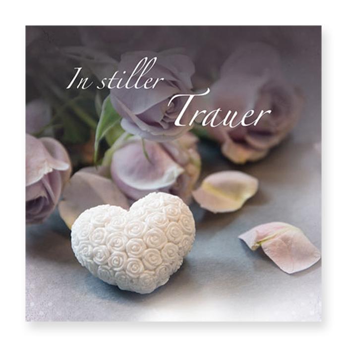 Natur Verlag Condolences card - Special Edition Sympathy Karin Bill