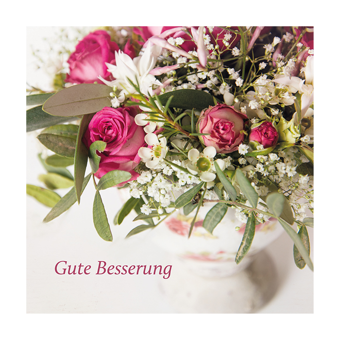 Natur Verlag recovery card - Bouquet of flowers