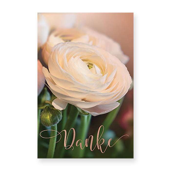 Natur Verlag thank-you card - Danke
