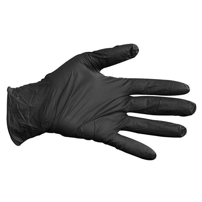 Nitril-Handschuhe schwarz