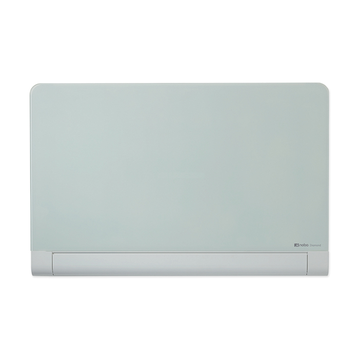 Nobo Diamond Glass Round Cornered Whiteboard