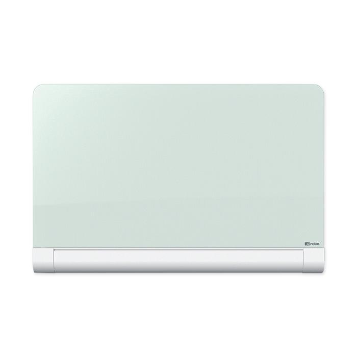"Nobo Diamond Glass Round Cornered Whiteboard 45"", 993 x 559 mm"