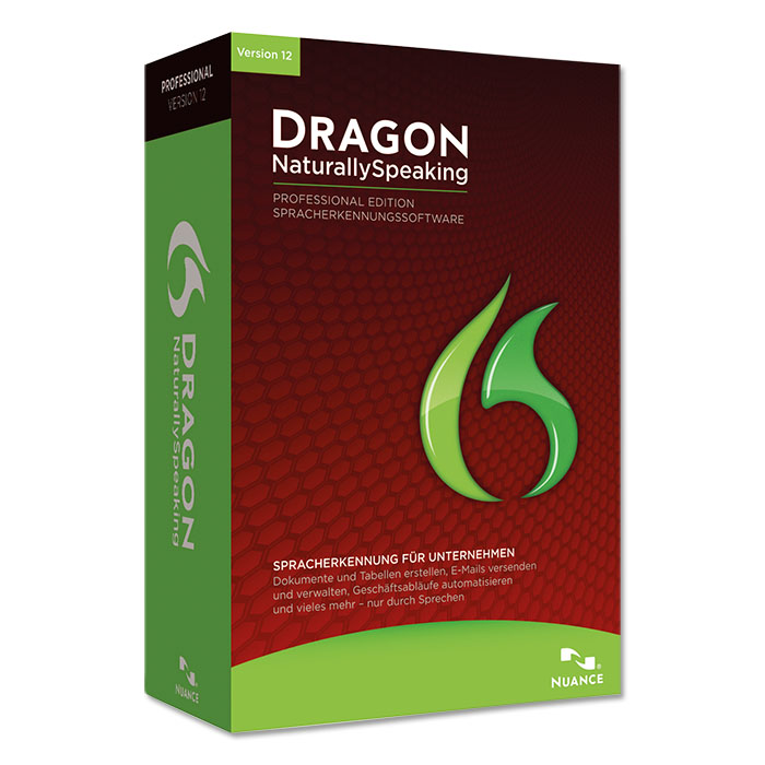 Nuance Dragon NaturallySpeaking Professional