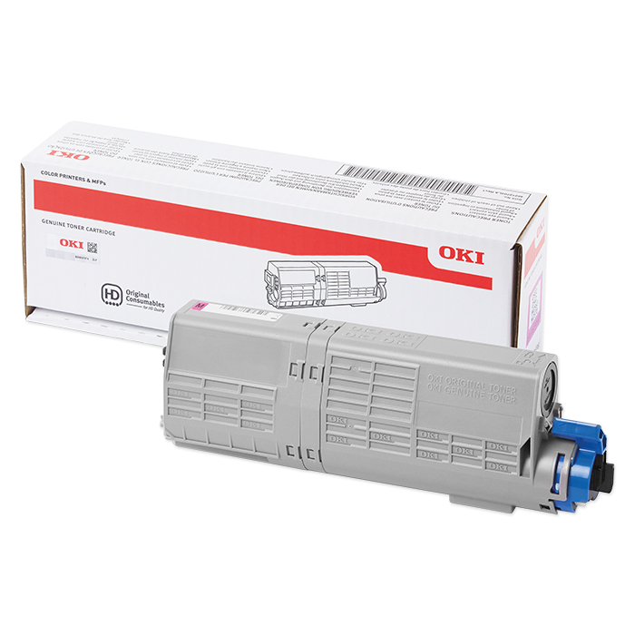 OKI Toner cartridge 46490401 - 608 magenta, 1500 pages
