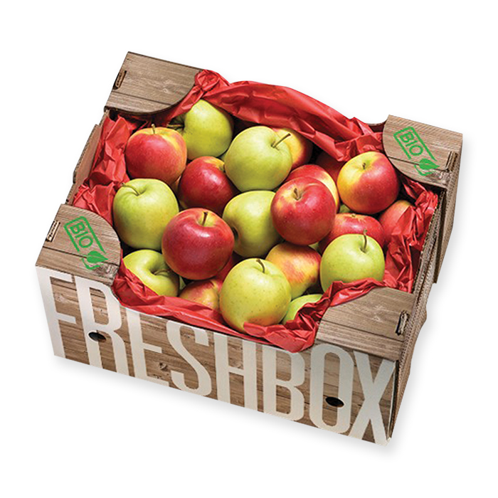 Organic Apple Box