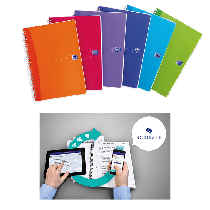 Oxford spiral-bound notepad MyColours