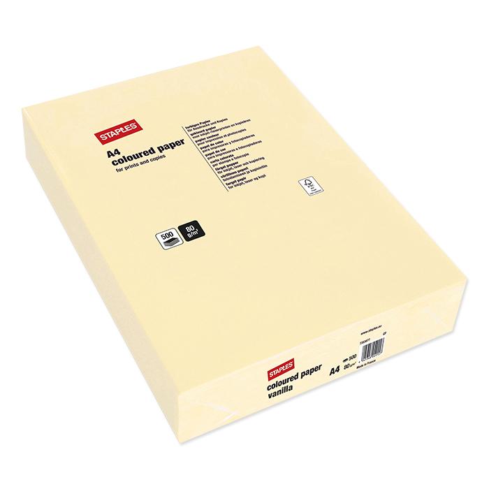Staples Colored Copy FSC vanilla