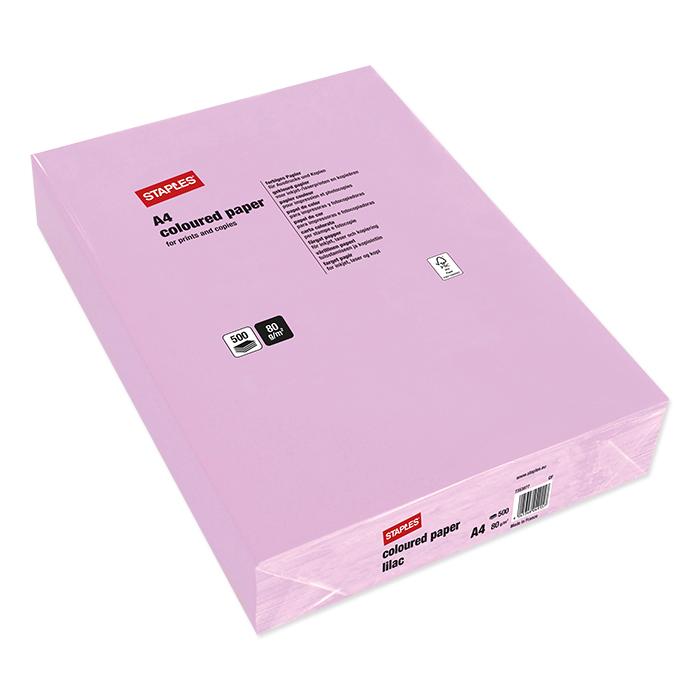Staples Colored Copy FSC lilac