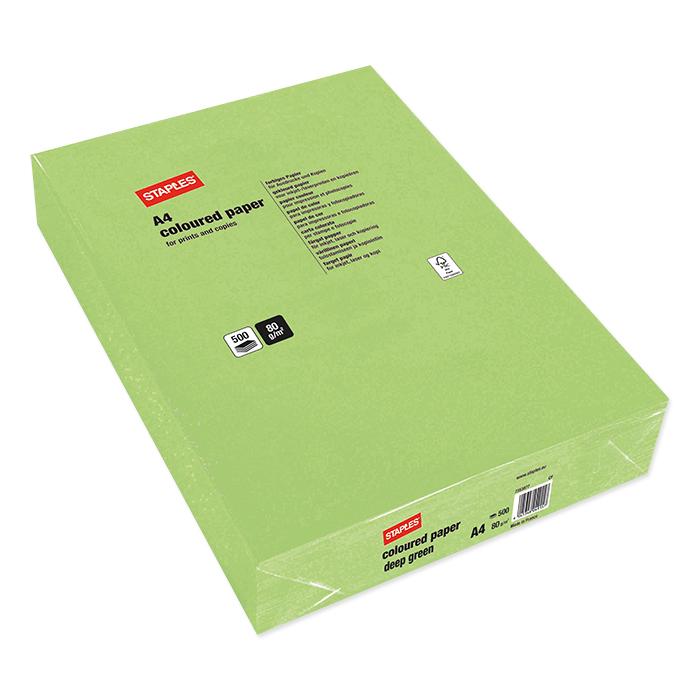 Staples Colored Copy FSC deep grün