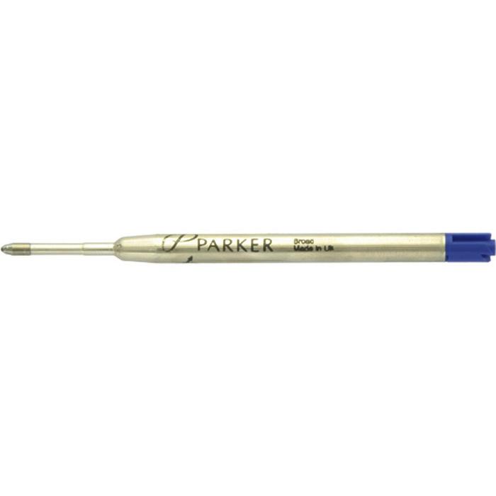 Parker Kugelschreiberpatrone breit, blau
